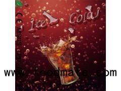 High Quality Low Strength Cherry Coca Cola Vape Juice Lime Gummy Cola Vinila Cola E Juice