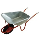 European Zinc Wheelbarrow