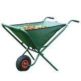 Foldable Garden Wheelbarrow