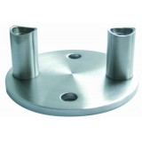Stainless Steel Wall Bracket With Round Base
