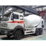 Outrigger Of The 8 Cbm Concrete Mixer Trucks With ABS Braking System