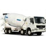 3 Axles 14 Cbm Concrete Mixer Truck