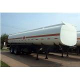 2 Axles,40,50 Cbm Double Bridge Tanker