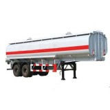 2 Axles, 40,45 Cbm Cooking Oil Truck Transport Trailer With JOST Leg