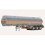 3 Axles Gasoline, 40,45 Cbm Petrol Tank Trailer With RearLights
