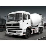 2 Axles 10 Cbm Concrete Mixer Trucks