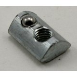 Steel T Nut With Ball For Slot 5 Aluminum Profiles