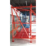 PAINTED OR HOT DIPPED GALVANIZED LEVEL DIAGONAL OF RINGLOCK SYSTEM SCAFFOLDING