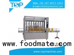 Automatic 250ml vegetable oil packaging machines sealing and labeling for glass bottle