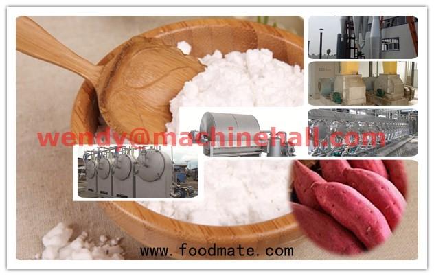 sweet potato starch processing machinery