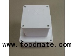 4*4*2 Inch /100*100*50 Mm White Or Black PVC Adaptable Box