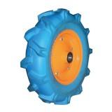 Flat Free PU Foam Wheel With Plastic Rim