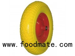 "16"" PU Foam Wheel For Wheelbarrow"