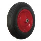 "14"" Flat Free Wheel For Wheelbarrow"