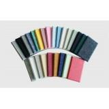 Decorative polyester fiber soundproofing panels