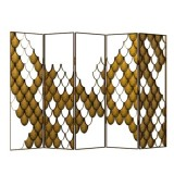 KOI Folding Screen For Modern Home Decor,room Divider Screen