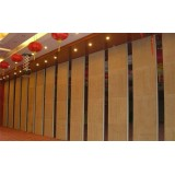 Sliding Operable Wall for Conference Room