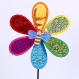 Flowers And Insects Glittering Pieces Smiling Face Wedding Festival Party Decoration Ornament Plasti
