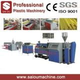 HDPE Prestressed Flat Plastic Corrugated Pipe Production Extrusion Line Making Machine