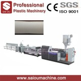 PP PE HDPE PVC Plastic Double Wall Corrugated Pipe Machine