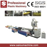 PP PE HDPE PVC Plastic Single Wall Corrugated Pipe Production Extrusion Line Making Machine