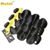Baisi Wholesale Peruvian Virgin Hair Body Wave Natural Black Color Healthy Donor Hair With Full Cuti