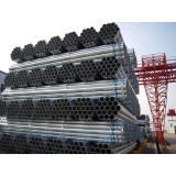 Hot-dipped Galvanized ( Zinc Coated ) Electric Resistance Welded ERW Round Carbon Steel Pipe
