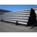 Spiral Submerged Arc Welded (SSAW) Steel Piling Pipe For High Bridge And High Construction