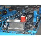 Heavy Duty Cable Tray Roll Forming Machine With Steel Perforated High Speed