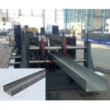 Touch Screen PLC Control High Speed Cable Tray Machine