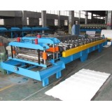 Roof Panel Glazed Tile Roll Forming Machine With Hi Quality