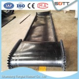 Bulk Material Handling Circular NN Conveyor Belt With Skirt Sidewall Used For Machine
