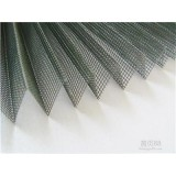 Polyester Pleated Insect Window And Door Fly Screen Mesh