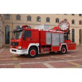 220,000 Cubic Meters Smoke Removal Fire Truck