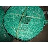 PVC Powder Coated Barbed Wire For Security