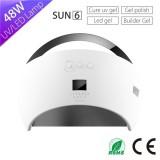 Portable Sun Nail Lamp Machine Sun6 48w Curing Lamp With Automatic Sensor