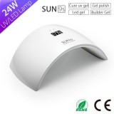 Sun 9s New Tochnology 24w Sun Light Nail Lamp With LED Display