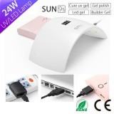 China Nail Lamp Manufacturer High Power Sun 9S Plus Nail Dryer With LED Display