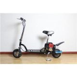 49cc Two Stroke Cheap Gas Scooters With Front And Rear Disc Brakes