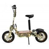 1600watts 48v Racing Electric Trottinettes With 10inch Wheel And Off Road Tire CE Approval