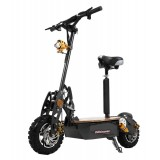 2000watts Off Road Foldable Sport Electric Power Scooters With 60v Lead Acid Batteries