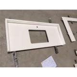 White Quartz Kitchen Counter Tops, Kitchen Worktops, Vanity Tops, Worktop And Composite Countertops