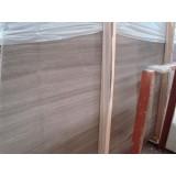 Chinese Grey Wooden Marble Floors, Grey Serpeggiante, Grey Marble Slabs