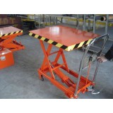 Postal Freight Goods Loading And Unloading Lifting Platform