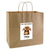 Kraft Paper Bag For Retail Stores Printing
