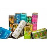 Flexible Convenience Food Plastic Packaging Printed Films