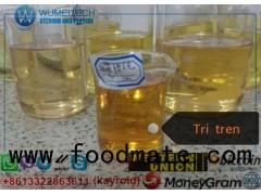 Tri-Trenabol 150mg Raw Tren Powder Trenbolone Blend TriTren 180mg Gold to Orange Liquid