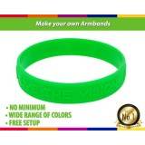 Make Your Own Silicone Armbands In Neon Colors For Events
