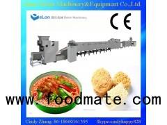 automatic instant noodle making machine / instant noodle processing line
