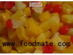 Bulk Delicious Organic Mixed Canned Fruit In Light Syrup No Preservatives